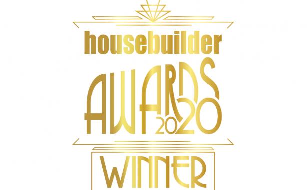 Gold writing Housebuilder Awards 2020 Winner