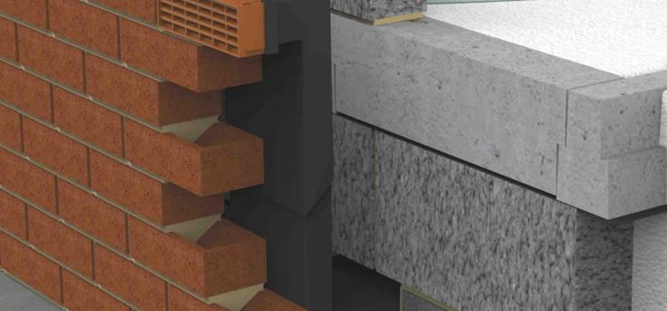 Installed, Black Dual Extended Telescopic Underfloor Vent with Terracotta Air Brick