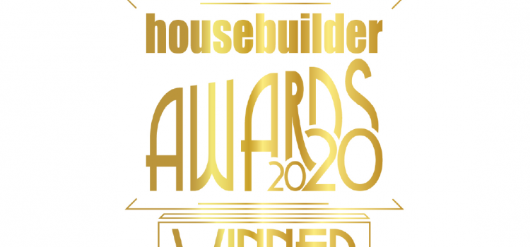 Gold writing Housebuilder Awards 2020 Winner